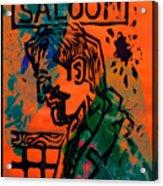 Saloon Acrylic Print by Adam Kissel