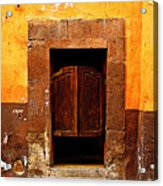 Saloon Door 5 Acrylic Print by Mexicolors Art Photography