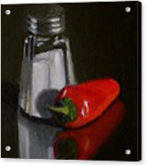 Salt And Pepper Acrylic Print