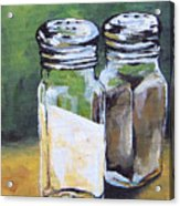 Salt And Pepper I Acrylic Print