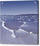 Salt Formations Great Salt Lake Ut Usa Acrylic Print