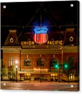 Salt Lake City Union Pacific Depot Acrylic Print