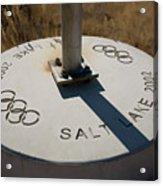Salt Lake Olympics 2002 Acrylic Print