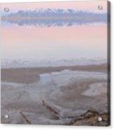 Salt Lake Sunset Acrylic Print