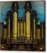 Salt Lake Tabernacle Organ Acrylic Print