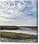 Salt Marsh And Creek, Brancaster Acrylic Print
