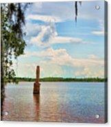Salt Mine Disactor Monument Jefferson Island Louisiana  Acrylic Print