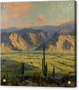 Salt River Irrigation Project - Arizona Acrylic Print