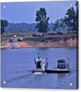Saltilla Tennessee River Ferry - 2 Acrylic Print