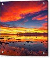Salton Sea Sunset Acrylic Print