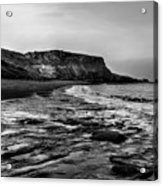 Saltwick Bay Acrylic Print