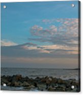 Salty Air Over Breach Inlet Acrylic Print