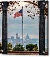 Salute To Cincinnati Acrylic Print
