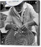 Salvadorean Handcrafter Acrylic Print