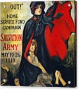 Salvation Army Poster, 1919 Acrylic Print