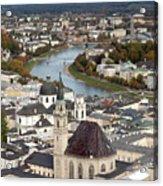 Salzburg Acrylic Print by Andre Goncalves