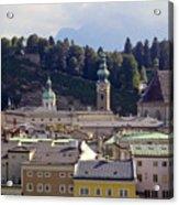Salzburg City View Three Acrylic Print