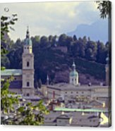 Salzburg City View Two Acrylic Print