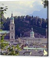 Salzburg City View Two Acrylic Print