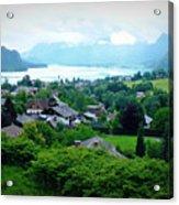 Salzburg Lake District Acrylic Print