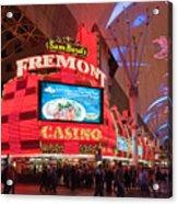 Sam Boyds Fremont Casino Acrylic Print