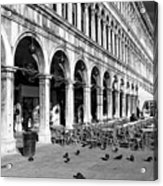 San Marco Perspective Acrylic Print