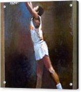 Sam Mitchell Nba Player Head Coach Toronto Raptors Acrylic Print