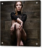 Samantha Bentley, Hair Bondage - Fine Art Of Bondage Acrylic Print