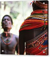 Samburu Tribe Acrylic Print