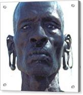 Samburu Warrior In Kenya Acrylic Print