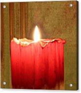 Same Candle New Color Acrylic Print