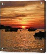 Samed Island Sunrise Acrylic Print