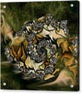 Sammy Snail Acrylic Print by Julie Grace