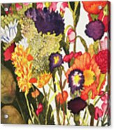 Sam's Flowers Acrylic Print