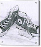 Sam's Shoes Acrylic Print