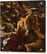 Samson Captured By The Philistines Acrylic Print