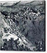 Samson Destroys The Philistines With An Ass Jawbone Acrylic Print