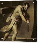 Samson In The Treadmill Acrylic Print