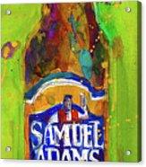 Samuel Adams Boston Ale Acrylic Print