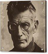 Samuel Beckett 1 Acrylic Print
