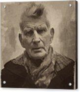 Samuel Beckett 2 Acrylic Print