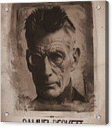 Samuel Beckett 01 Acrylic Print
