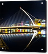 Samuel Beckett Bridge 3 Acrylic Print