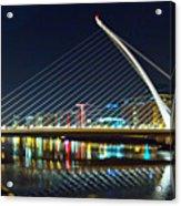 Samuel Beckett Bridge 4 Acrylic Print