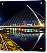 Samuel Beckett Bridge 5 Acrylic Print