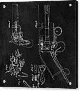 Samuel Colt 1836 Revolver Patent Acrylic Print