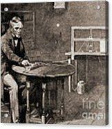 Samuel Morse And Telegraph, 19th Century Acrylic Print
