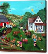 Samuels Alaphabet Farm Acrylic Print