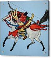 Samurai Rider Acrylic Print
