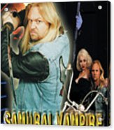Samurai Vampire Bikers From Hell Acrylic Print